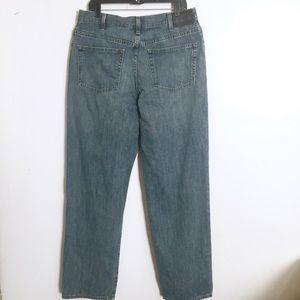Eddie Bauer Straight Leg Vintage Wash Jeans 36 x36